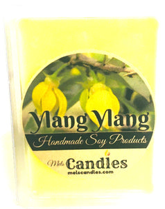 Ylang Ylang 3.4 Ounce Pack of Soy Wax Tarts Mels Melts