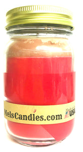 Cupid 16 Ounce Country Jar Handmade Soy Candle