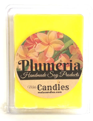 Plumeria 3.4 Ounce Pack of Soy Wax Tarts - Mels Melts.