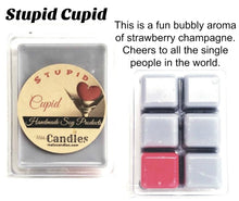 Load image into Gallery viewer, Stupid Cupid  3.4 Ounce Pack of Soy Wax Tarts - Mels Melts.