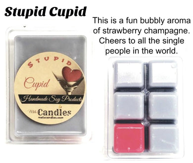 Stupid Cupid  3.4 Ounce Pack of Soy Wax Tarts - Mels Melts.