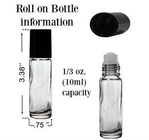 Peppermint 10 ml Roll On Bottle of Perfume Oil - mels-candles-more