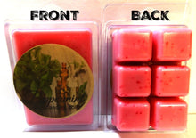 Load image into Gallery viewer, Peppermint 3.2 Ounce Pack of Soy Wax Tarts (6 Cubes Per Pack) - Scent Brick, Wickless Candle - mels-candles-more