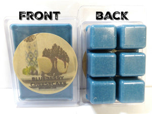Blueberry Cheesecake -3.2 Ounce Pack of Soy Wax Tarts - Scent Brick, Wickless Candle - mels-candles-more