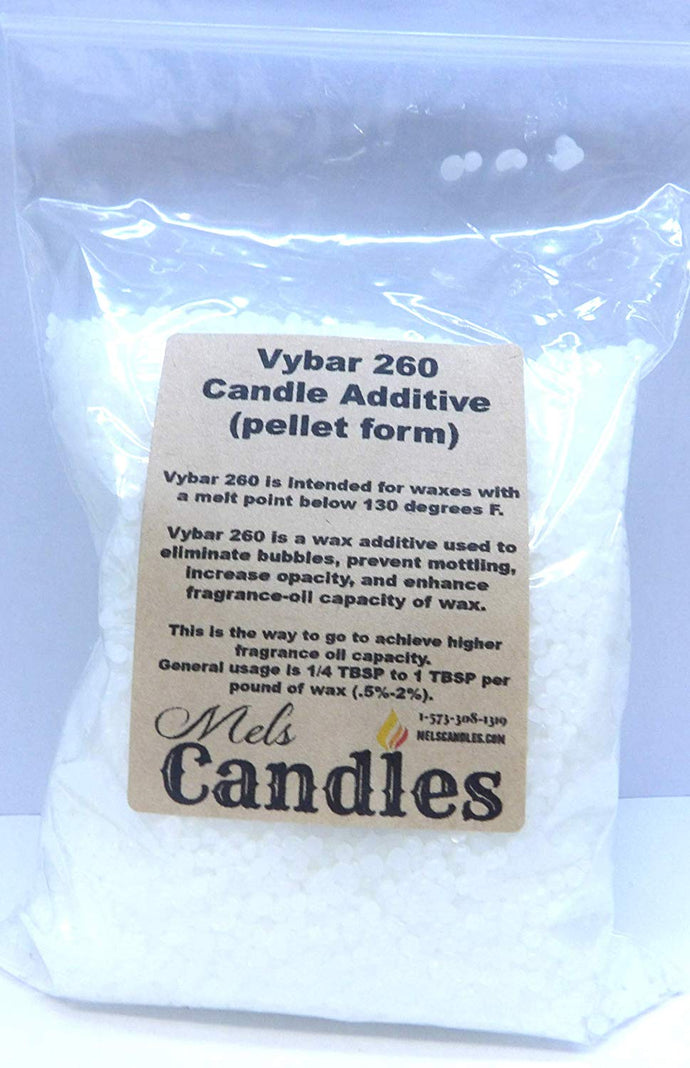 Vybar 260 - 5 ounces of Wax Additive comes in a clear Bag - candle making additives - mels-candles-more