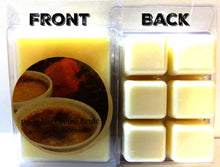 Load image into Gallery viewer, Pumpkin Creme Brulee 3.2 Ounce Pack of Soy Wax Tarts (6 Cubes Per Pack) - Scent Brick, Wickless Candle - mels-candles-more