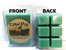 Load image into Gallery viewer, Cow Pie - (Fresh Cut Grass) 3.2 Ounce Pack of Soy Wax Tarts (6 Cubes Per Pack) - Scent Brick, Wickless Candle - mels-candles-more
