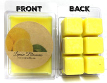 Load image into Gallery viewer, Two Packs of Lemon Blossoms Handmade 100% Pure Soy Wax Tarts - Scent Brick, Wickless Candle - mels-candles-more