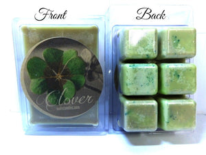 Clover 3.2 Ounce Pack of Soy Wax Tarts - Scent Brick, Wickless Candle - mels-candles-more
