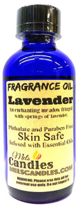 Lavender 4 Ounce    118.29 ml Glass Bottle of Premium Fragrance   Perefume Oil - mels-candles-more