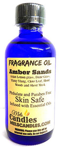 Amber Sands  4 Ounce    118.29 ml Glass Bottle of Premium Fragrance   Perefume Oil - mels-candles-more