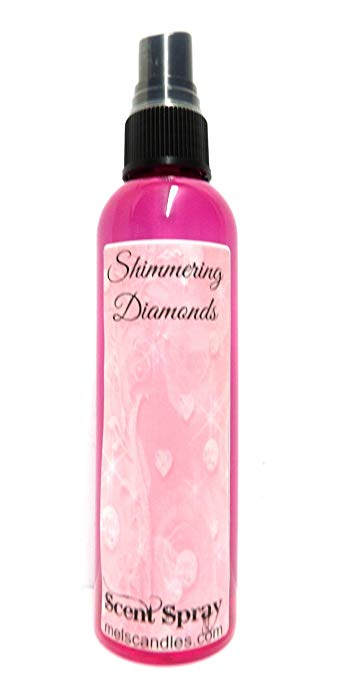Shimmering Diamonds - 4oz Body Spray - Scent Spray- OUR Version of White Diamonds - mels-candles-more