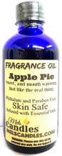 Load image into Gallery viewer, Apple Pie 4 Ounce    118.29 ml Glass Bottle of Premium Fragrance   Perefume Oil - mels-candles-more