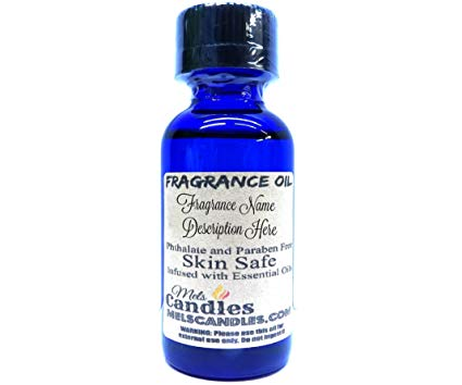 Gingerbread 1oz   29.5ml Blue Glass Bottle of Premium Grade A Quality Fragrance Oil, 1oz Bottle Skin Safe Oil