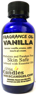 Vanilla 4 Ounce    118.29 ml Glass Bottle of Premium Fragrance   Perefume Oil - mels-candles-more