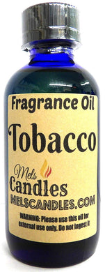 Tobacco 4 Ounce    118.29 ml Glass Bottle of Premium Fragrance   Perefume Oil - mels-candles-more
