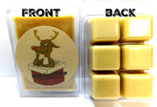 Load image into Gallery viewer, Reindeer Poop 3.2 Ounce Wax Tarts - Scent Brick, Wickless Candle - mels-candles-more