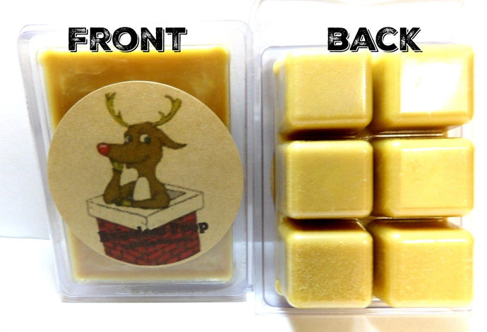 Reindeer Poop 3.2 Ounce Wax Tarts - Scent Brick, Wickless Candle - mels-candles-more
