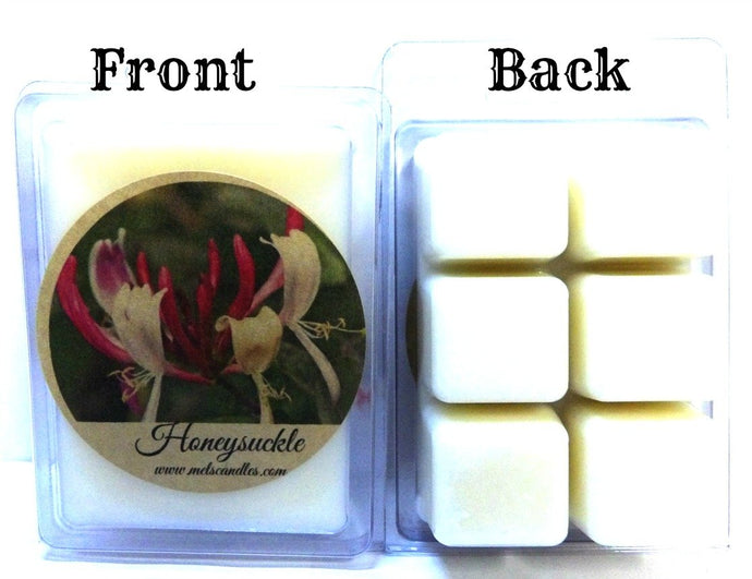 Honeysuckle 3.2 Ounce Pack of Soy Wax Tarts - Scent Brick, Wax Melts - mels-candles-more
