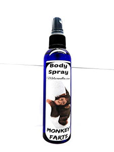 4oz Body Spray   Room Spray Monkey Farts
