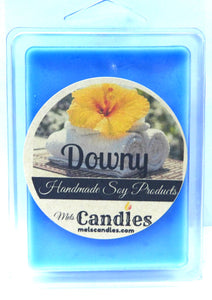 Downy (Type) 3.2 Ounce Pack of Soy Wax Tarts - Handmade - Scent Brick, Wickless Candle - mels-candles-more