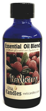 Bayberry 4 ounce Glass Bottle of Essential Oil Blend Fragrance Perfume Oil