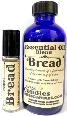 COMBO - BREAD Combo 4oz   118.29 Ml Bottle of Skin Safe Fragrance   Perfume Oil and 10 Ml Bottle of Roll-On Perfume Oil - mels-candles-more