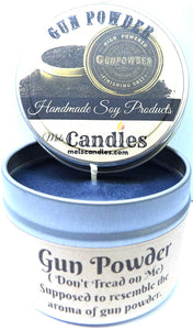 Tiger Claw 4 Ounce Handmade 100% Soy Candle Tin (Take It Any Where) - mels-candles-more