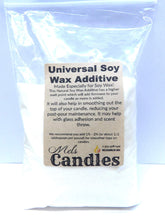 "Load image into Gallery viewer, Universal Soy Wax Additive â-"" 5oz Re-seal-able Bag of Candle Additive - mels-candles-more"