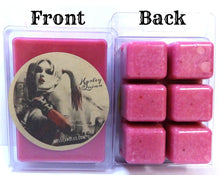 Load image into Gallery viewer, Lil Monster 3.2 Ounce Pack of Soy Wax Tarts - Scent Brick - We adore Harley Quinn - mels-candles-more