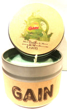 Load image into Gallery viewer, Gain Original (Type) 4oz All Natural Soy Candle Tin - Approximate Burn Time 30+ Hours - mels-candles-more