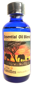 African Musk 4 Ounce / 118 ml Glass Bottle of Fragrance / Perfume Oil / Essential Oil Blend
