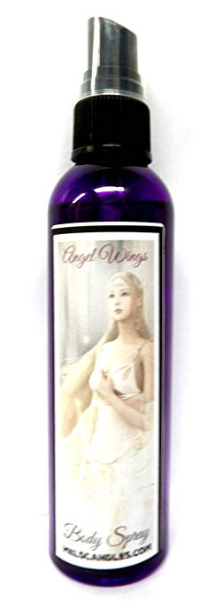"4oz Bottle of Body Spray Angel Wings Aroma Multi Use (Body Spray, Room Spray, Car Air Freshener) â-"" Womens Great Aroma - mels-candles-more"