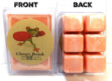 Load image into Gallery viewer, Cherry Bomb -3.2 Ounce Pack of Soy Wax Tarts - Scent Brick, Wickless Candle - mels-candles-more