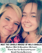 Load image into Gallery viewer, COMBO - Snowman Poop and Santa Farts Set of Two 16oz All Natural Hand Made Soy Candles - mels-candles-more