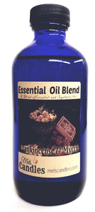 Frankincense & Myrrh 8 Ounce Glass Bottle of Essential Oil Blend Fragrance Oil Perfume Oil