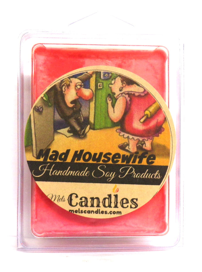 Mad Housewife -  3.4 Ounce Pack of Soy Wax Tarts / Melts