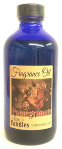 Pomegranate 8 ounce Glass Bottle of Fragrance Oil - essential oil blend