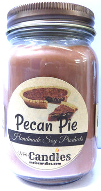 Pecan Pie  16 Ounce Country Jar Soy Candle