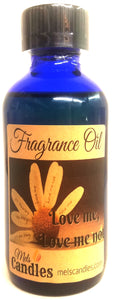 Loves Me Loves Me Not - 1 ounce glass dropper bottle of fragrance oil