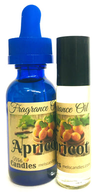 COMBO - APRICOT 1 Ounce Bottle Oil and 10 Ml Roll-On Bottle