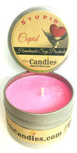 Load image into Gallery viewer, Stupid Cupid 4 ounce All Natural Soy Candle Tin
