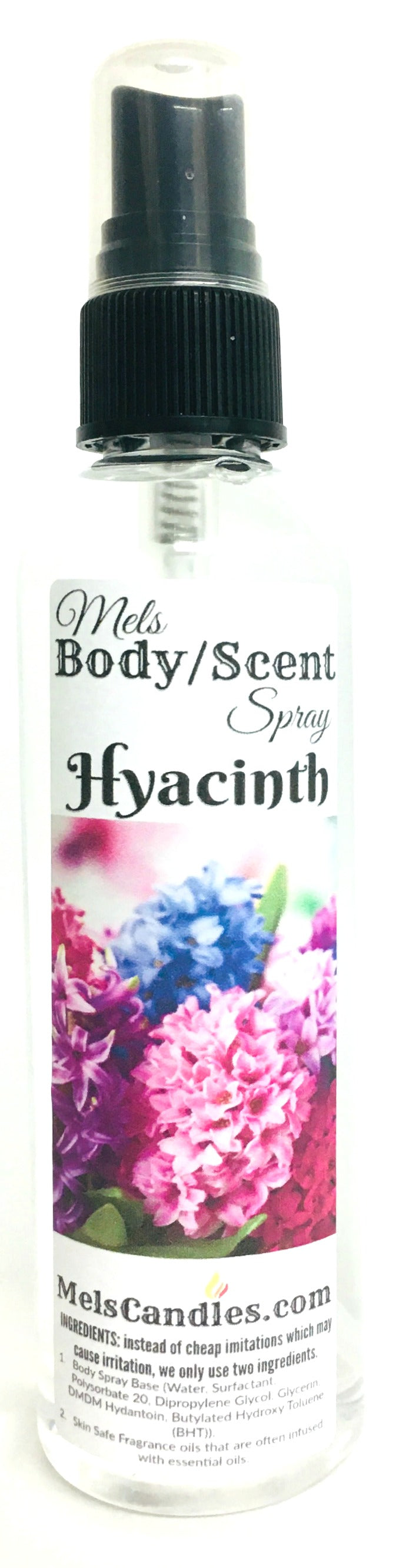 Hyacinth 4oz Bottle of Scent Spray Body Spray, linen Spray air freshener