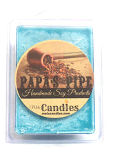 Load image into Gallery viewer, PAPA'S PIPE  3.4 Ounce Pack of Soy Wax Tarts / Melts