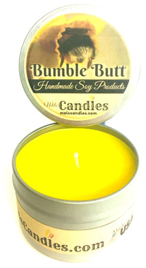 Bumble Butt 4 ounce All Natural Soy Candle Tin