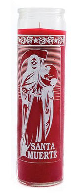 Santa Muerte (Holy Death) Red 7 Day Spiritual Candle