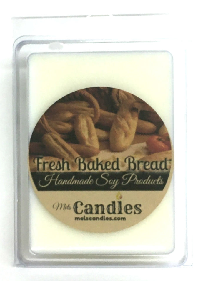 Fresh Baked Bread - 3.4 Ounce Pack of Soy Wax Tarts - Scent Brick, Wickless Candle