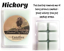 Load image into Gallery viewer, Hickory  3.4 Ounce Pack of Soy Wax Tarts - Mels Melts.