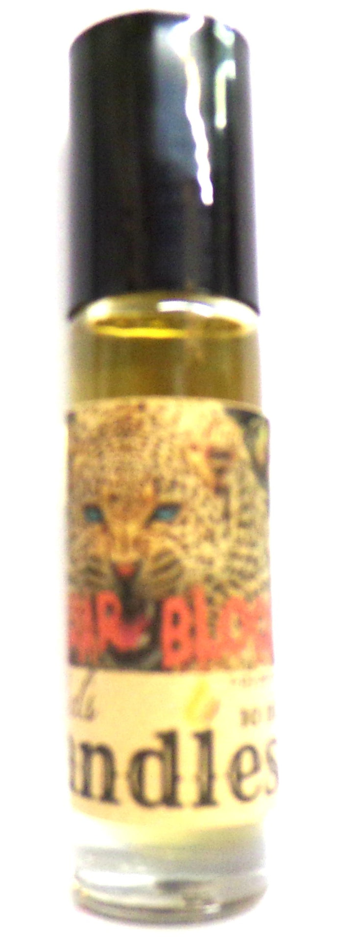 Jaguar Blood 10 ml Glass Roll on Bottle of Perfume Oil Not an AF Woods Product