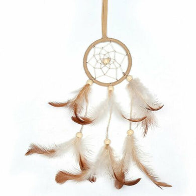 Light Brown Dream Catcher - Small and Beautiful